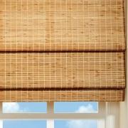 Римская штора бамбук