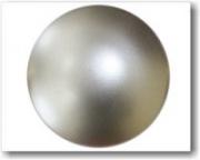 Магнит матовое серебро