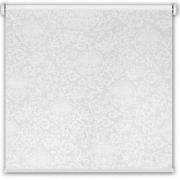 """Рулонная штора принт """"Вензель"""", белый"""